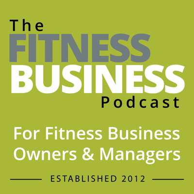 Since 2015, the fitness business podcast has produced a weekly show to help fitness business owners, managers, career individuals and entrepreneurs lead, manage and run their businesses.  Each week the show invites leading business experts, coaches, authors and owners from around the world to share their expert advice on a specific topic, make book recommendations and end each show with 3 specific actions listeners can do.  Themed shows include In The Trenches, where an owner shares a strategy that has had amazing impact in their business; and the Intensive Series, four mini episodes with laser focus on a specific topic and real time actions for listeners to implement into their business.  The show is supported by Active Management, Precor, Tribe Team Training, One Fit Stop, ABC Financial, MyZone & RockstarFit.