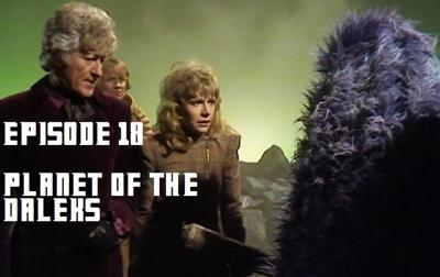 Cover art for 18 - Planet of the Daleks