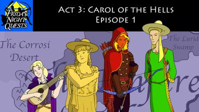 Cover art for Act 3: Carol of the Hells, Episode 1