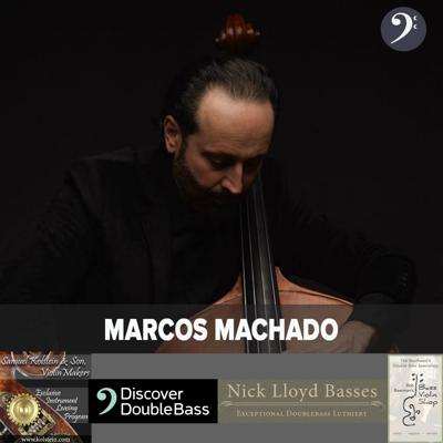 Cover art for 699: Marcos Machado on Tao of Bass Volume 2