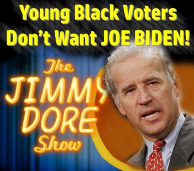 Cover art for Young Black Voters Don't Want JOE BIDEN!