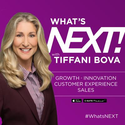 Welcome to the What's Next! Podcast. I've met so many brilliant people as I traveled the globe and have had some fascinating conversations that I've wished had been recorded so I could share them with you - this podcast was a way for me recreate those moments and let you in on some fantastic insights. My current conversations center around one objective: what's next for companies and individuals as they look to innovate and grow. I hope these conversations inspire you as much as they have inspired me. Whether I am preparing for keynote speech or writing for publications such as Harvard Business Review and Huffington Post these are my go-to people. My goal with the What's Next! podcast is to keep you thinking and to challenge you to think about What's Next!