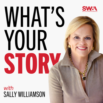What's Your Story is a podcast dedicated to helping business leaders use storytelling to improve the impact of spoken communications within their organizations. If you're looking to learn communication and storytelling strategies, as well as best practices from leadership and talent development experts, this is the show for you.  Each episode features an interview with an executive or thought leader, discussing topics like: effective storytelling, executive presence, influencing others, corporate communication, leadership and talent development and more.  The What's Your Story podcast is hosted by Sally Williamson and brought to you by SW&A.