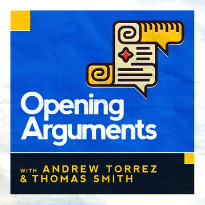 Every episode, legal expert Andrew and comic relief Thomas will tackle a popular legal topic and give you all the tools you need to understand the issue and win every argument you have on Facebook, with your Uncle Frank, or wherever someone is wrong on the Internet. It's law.  It's politics.  It's fun.  We don't tell you what to think, we just set up the Opening Arguments.