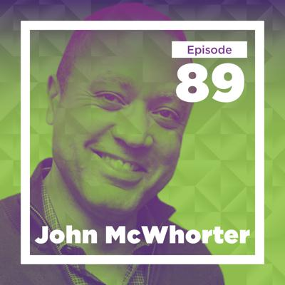 Cover art for John McWhorter on Linguistics, Music, and Race (Live at Mason)