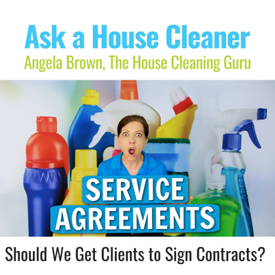 Cover art for Service Agreements and Cleaning Contracts - You've Got it All Wrong