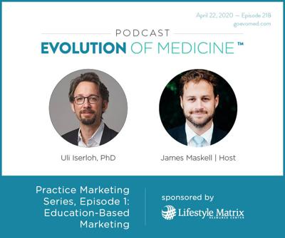 Cover art for Practice Marketing Series, Episode 1: Education-Based Marketing