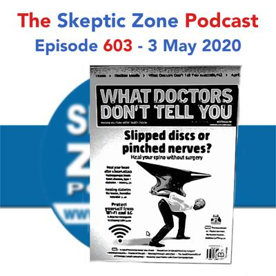 Cover art for The Skeptic Zone #603 - 3.May.2020