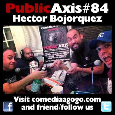 Cover art for Public Axis #84: Hector Bojorquez
