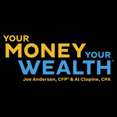 On this retirement investing podcast, financial planner Joe Anderson, CFP® and certified public accountant Big Al Clopine answer your money questions about investing, portfolio diversification, how to reduce taxes, creating retirement income, collecting Social Security benefits, how much you can spend in retirement, Roth conversions, and more. Retirees and pre-retirees listen to this irreverent and informative personal finance podcast to laugh as they learn strategies that can help them retire successfully. Ask your personal finance questions, read YMYW podcast episode transcripts, and access free financial resources at http://YourMoneyYourWealth.com