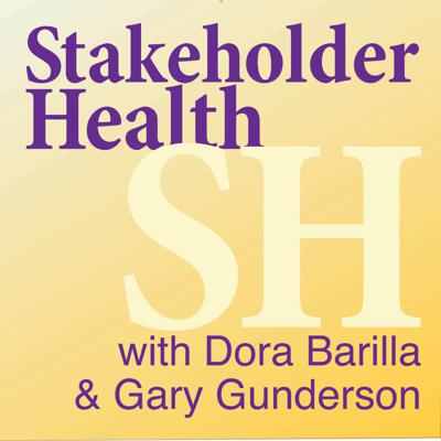 Stakeholder Health is a movement of people in health care systems and others who cross the sidewalks around their hospitals to share in the life and well-being of their communities. Next Gen Community Health. Hosts Dora Barilla and Gary Gunderson.   www.stakeholderhealth.org