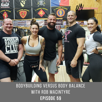 Cover art for Bodybuilding versus Body Balance with Rob MacIntyre