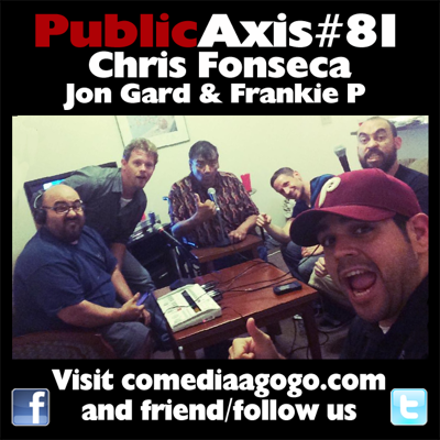 Cover art for Public Axis #81: Chris Fonseca, John Gard & Frankie P