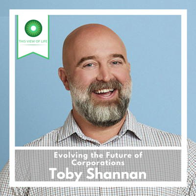 Cover art for Evolving the Future of Corporations: A Conversation with Toby Shannan