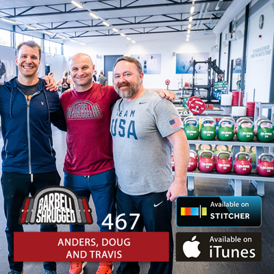 Cover art for The Ultimate Guide to At Home Training and Strength University w/ Anders Varner, Doug Larson, and Travis Mash- Barbell Shrugged #467