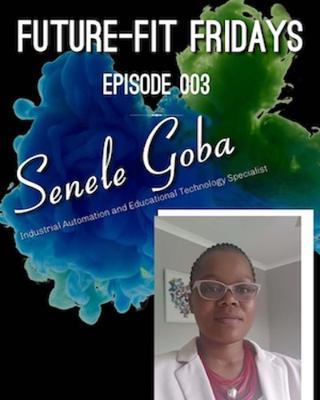 Cover art for Episode 003: Future Skills with Senele Goba