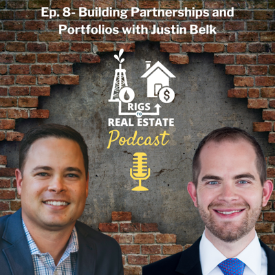 Cover art for [RTR008] Building Partnerships and Portfolios with Justin Belk