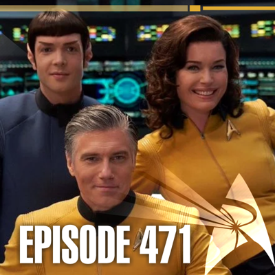 Cover art for P1P: 471 – ComicCon@Home | Priority One: A Roddenberry Star Trek Podcast