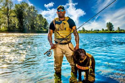 Cover art for Anchored Podcast Ep. 167: Chad Brown On Battling PTSD With Fly Fishing