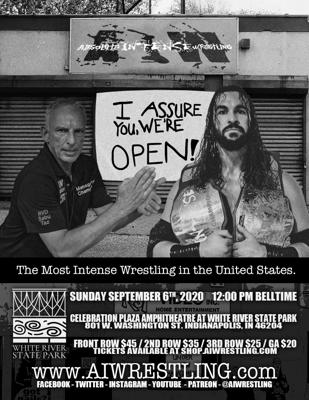 Cover art for AIW Is Back September 6th!  - EP195