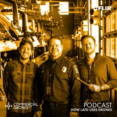 Cover art for #093 - How LAFD Uses Drones
