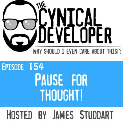 Cover art for Episode 154 - Pause for thought