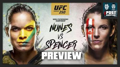 Cover art for UFC 250 Preview with Mike Bohn of MMA Junkie & USA Today