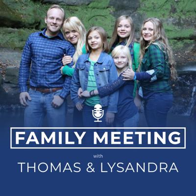 The Family Meeting Podcast is a podcast all about family relationships. Our goal is to help you have the family dynamic that you have always wanted. Thomas and Lysandra invite you to be a part of their family. They pull back the curtain on their family life to share practical tips and advice on everything from marriage, parenting, sex, and everything in between. For helpful posts, videos, podcast show notes, or to book them to speak at your next event, go to www.thomasosterkamp.com.