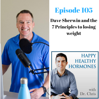 Cover art for 105: Dave Sherwin and the 7 Principles to losing weight