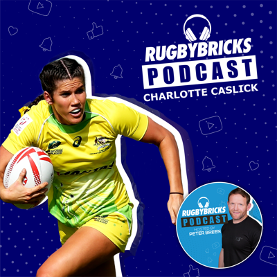 Cover art for #22: Charlotte Caslick | Influencing A Generation & 2016 World Player of the Year