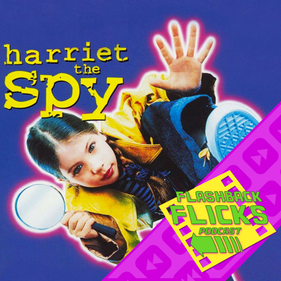 Cover art for Harriet the Spy (1996) Movie Review | Flashback Flicks Podcast
