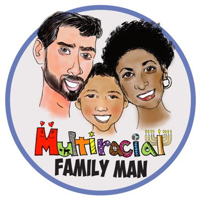 Multiracial Family Man