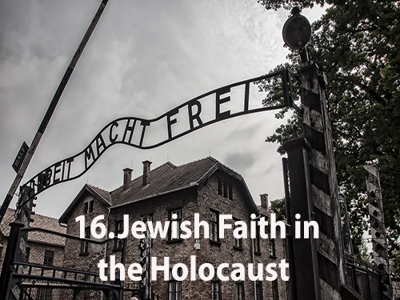 Cover art for Jewish Faith in the Holocaust #16