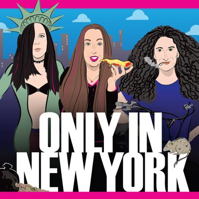 Comedians and podcasters Tracey Carnazzo, Chemda Khalili and Andrea Allan talk to native New Yorkers and transplants alike about things that can only happen in New York.