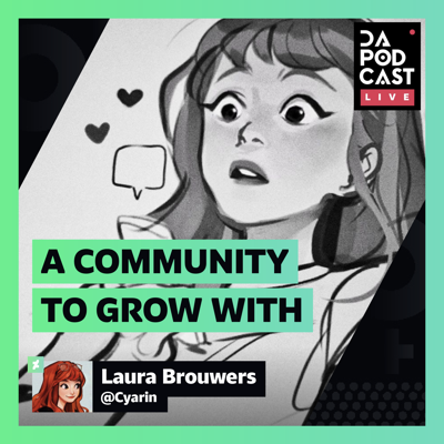 Cover art for The DeviantArt Podcast: LIVE | A Community to Grow With (w/ Cyarin)