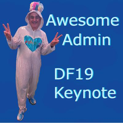Cover art for Dreamforce Awesome Admin Keynote 2019 WizardCast 104