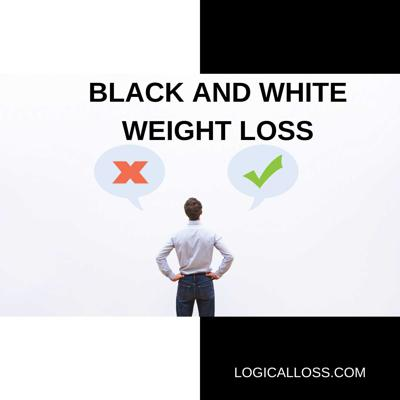 Cover art for Black and White Weight Loss