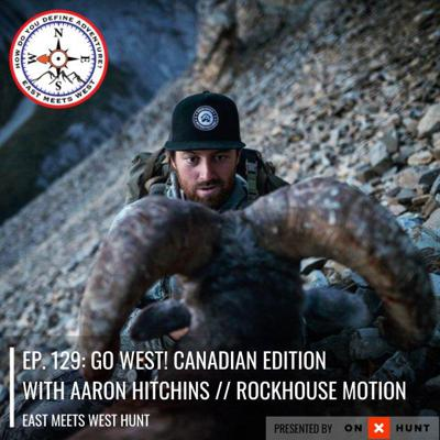 Cover art for Ep. 129: Go West! Canadian Edition with Aaron Hitchins // Rockhouse Motion