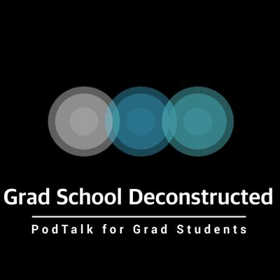 Grad School Deconstructed is a podcast that explores the trials and tribulations of graduate school in a new and innovative way.  Stephanie Marder and Clark Ausloos share personal experiences, welcome various guests, and interact with you, the listeners, as they navigate both practical and taboo topics related to the graduate school experience.