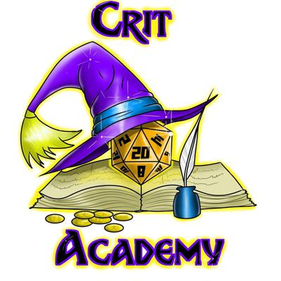Our podcast was created to deliver guidance to our heroes and provide them with new and reusable material for both players and DMs. We hope to inspire you with creative content that you can bring with you on your next adventure. Visit us at www.critacademy.com and subscribe to our emailing listing for a chance to win awesome prizes. ​Our podcast is broken into three segments! ​Crit Nation feedback! Where we dedicate and entire segment to the concerns, questions or anything you have to share with us. ​Main Topic! Our primary topic of discussion ranging from combat effectiveness, roleplaying and similar tips to help you learn or improve your gameplay experience! Our Unearthed Tips & Tricks Segment! Our favorite segment where we share with you ideas that you can use on your next adventure. This includes character concepts, magic items, encounter ideas, DM tips and player tips.