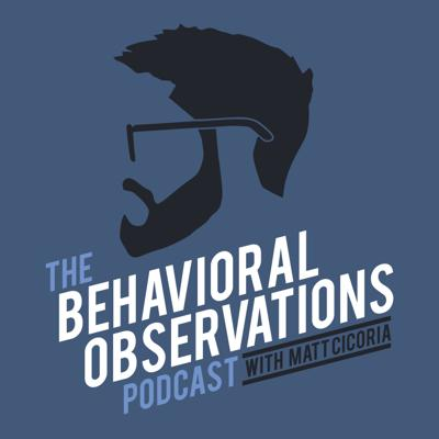 The Behavioral Observations Podcast with Matt Cicoria is an interview-based show that features conversations with innovative scientists and practitioners in the field of Behavior Analysis. The podcast covers topics such as Autism, Functional Behavioral Assessment, Acceptance and Commitment Therapy, Functional Communication Training, Verbal Behavior, and more!