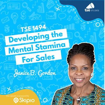 Cover art for Developing the Mental Stamina For Sales   Janice B. Gordon - 1494