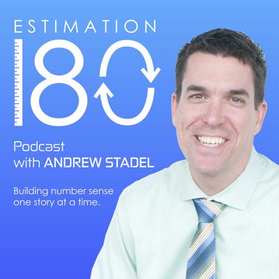 Poorly designed math curriculum often confuses students and frustrates teachers.  The Estimation 180 podcast discusses teaching strategies and math lessons that build number sense and mathematical reasoning.  Join your host, Andrew Stadel, on this number sense journey as he shares teacher tips and strategies so every student can make sense of math.