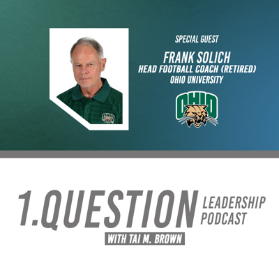 Cover art for Frank Solich   Head Football Coach (Retired)   Ohio University