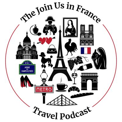 Planning a trip to France? Join Us in France is the podcast for you! On this podcast we have conversations about our trips to France, chat with tour guides, share tips on French culture, the basics of French history, explain how to be savvy traveler in France and share our love of French food, wine and destinations in France.  You won't want to miss out on all these great conversations about one of the most beautiful countries on earth! Subscribe now so you don't miss an episode. And if you're planning your own trip soon - start listening now so you're ready to connect to France on a deeper level. Bon voyage!