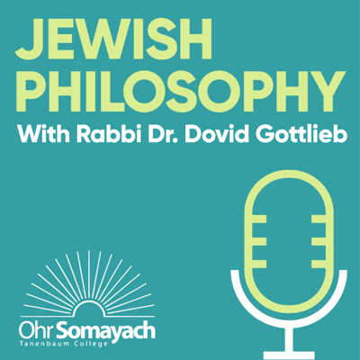Having received his Ph.D. in mathematical logic at Brandeis University, Rabbi Dr. Dovid Gottlieb went on to become Professor of Philosophy at Johns Hopkins University. Today he is a senior faculty member at Ohr Somayach in Jerusalem. An accomplished author and lecturer, Rabbi Gottlieb has electrified audiences with his stimulating and energetic presentations on ethical and philosophical issues.  In Jewish Philosophy with Rabbi Dr Gottlieb, we are invited to explore the most fascinating and elemental concepts of Jewish Philosophy.  https://podcasts.ohr.edu/ podcasts@ohr.edu