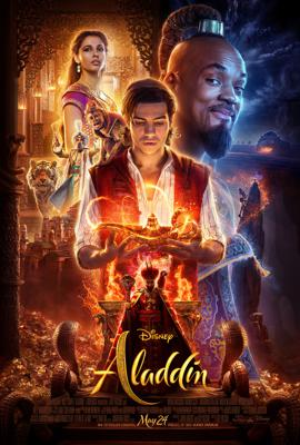 Cover art for Episode 95: Aladdin (2019) with Nick Simmons