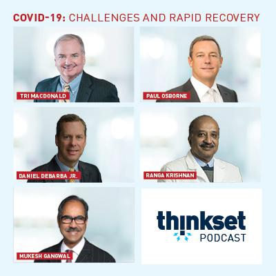 Cover art for COVID-19 Challenges and Rapid Recovery