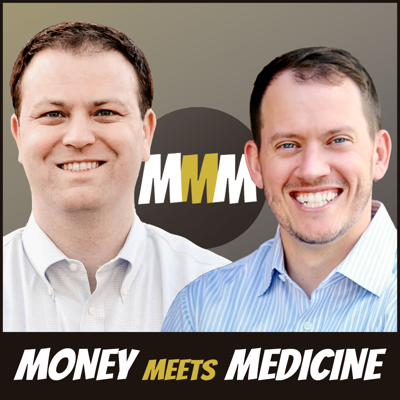 On Money Meets Medicine, Jimmy Turner, MD and Ryan Inman, a fee-only financial advisor, combine their experience to teach you about the personal finance topics you wish you had learned in medical school.    The MMM podcast will help you tackle your student loans, achieve financial independence, invest for retirement, and decrease your financial stress and burnout.    Come find out how much you can learn about money with the experience and perspective of a physician and a financial advisor combined into one of the best personal finance podcasts for doctors.    Dr. Turner is a practicing anesthesiologist at Wake Forest and owner of ThePhysicianPhilosopher.com blog. Ryan Inman is the founder of Physician Wealth Services, a fee-only financial planning practice that works exclusively with physicians nationwide and is the host of the Financial Residency podcast.
