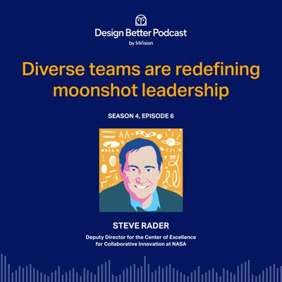 Cover art for NASA's Steve Rader: Redefining the moonshot with diverse teams